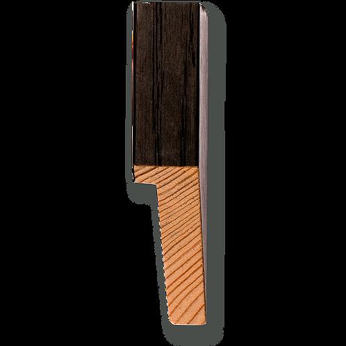 """3/4"""" x 2"""" Espresso Oak Veneer: TA-414"""