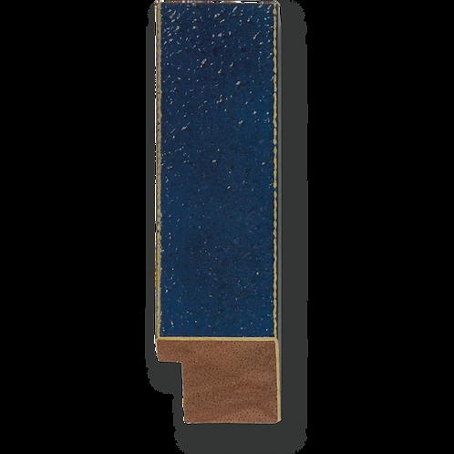 "1 1/4"" Glossy Blue Texture: K-749"