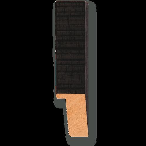 """3/4"""" Black Textured: TA-512"""