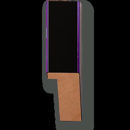 "1"" Metallic Purple Pinstripe: K-764"