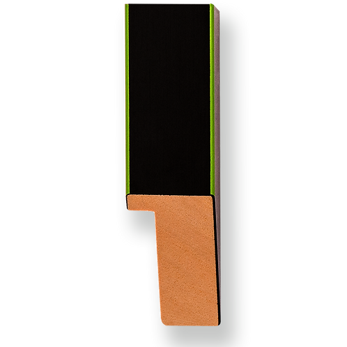 "1"" Green Pinstripe: K-758"
