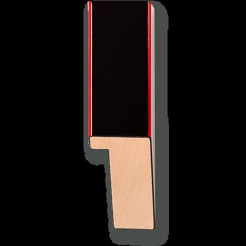 """1"""" Metallic Red Pinstripe: K-769"""
