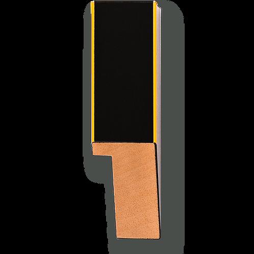 "1"" Yellow Pinstripe: K-760"