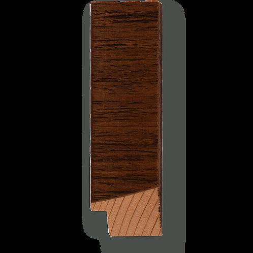 """1 1/8"""" Medium Brown Teak Veneer: TA-418"""