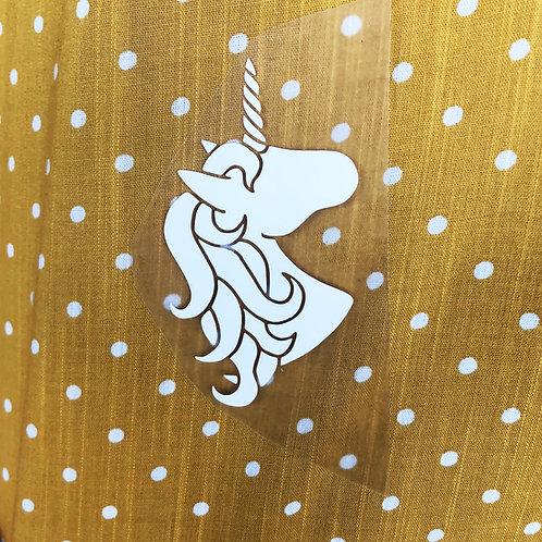 Thermocollant licorne pour textile