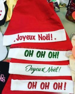 Bonnets de Noel - bonnet feutrine person