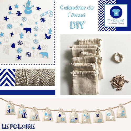 Kit DIY Calendrier de l'Avant - Le Polaire-
