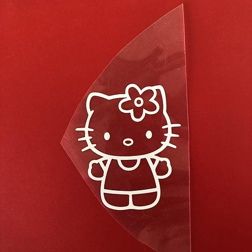 Hello Kitty thermocollant pour textile