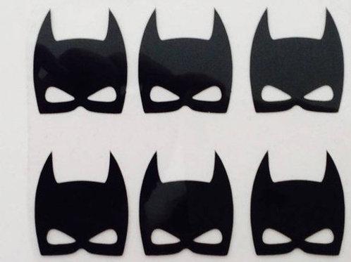 Lot 6 masques thermocollants pour textiles
