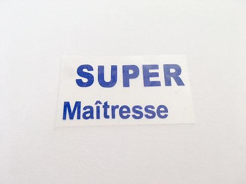Thermocollant Super Maitresse pour appliquer sur tissu