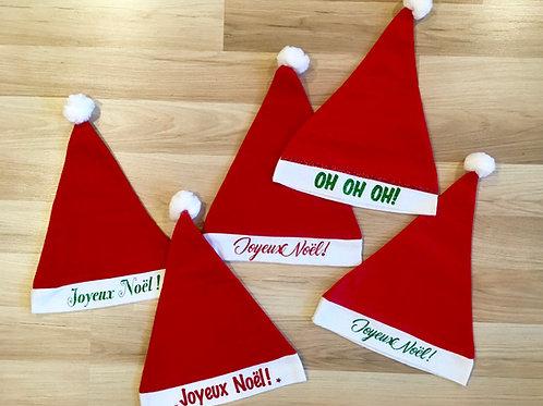 Bonnet de Noel - Joyeux Noël
