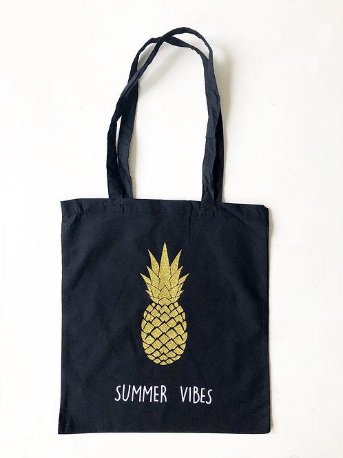 Tote-bag Ananas tendance