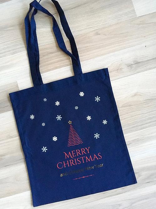 Sac de Noel en coton - emballage durable