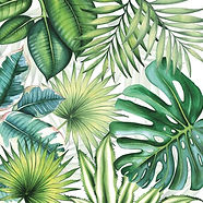 serviettes-de-table-tropical-feuillage.j