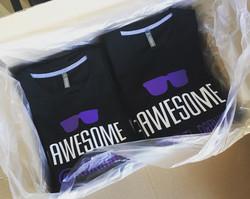 Commande tee-shirts personnalisés awsome
