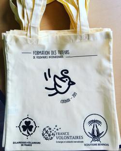 Tote-bag- sac coton personnalisé