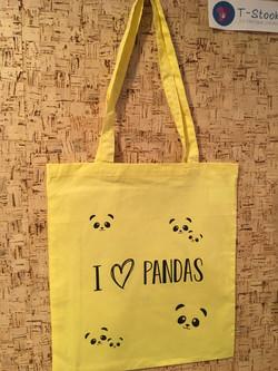 Cadeau anniversaire- sac panda