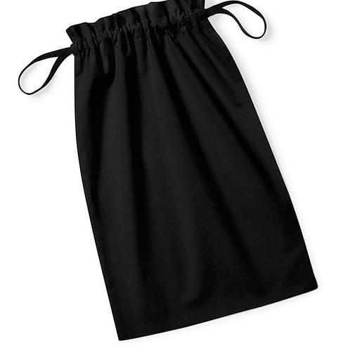 Pochon 100% coton Bio noir