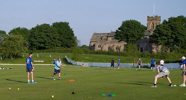 Junior Training at Thornham Cricket Club
