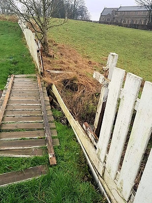 THORNHAM AWARDED GRANT TO HELP WITH STORM DAMAGE