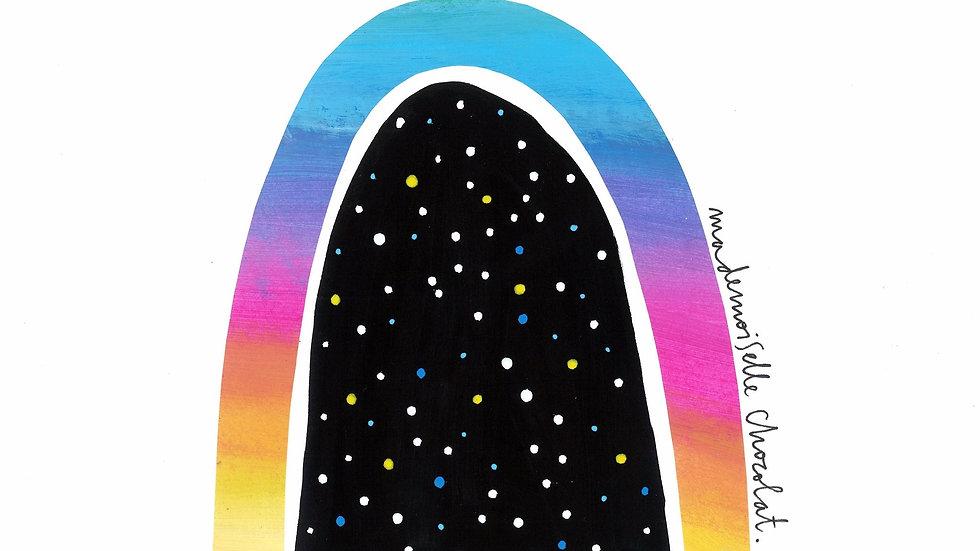 Print - Cosmic Rainbow