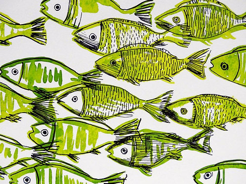 Fishes on Pistache