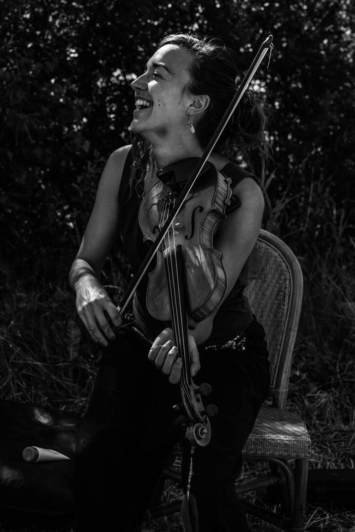 Rechten kijk om te zien fotografie, portret, violist