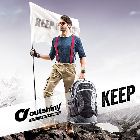 OUTSHINY BAGS - KEEP GOING