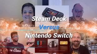 Steam Deck vs. Nintendo Switch – ShatterCast
