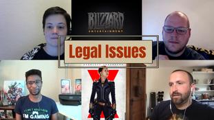 SEASON FINALE: Lawsuits involving Activision Blizzard and Black Widow Movie – ShatterCast, Sea