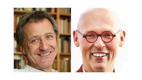 Sven Hartberger und Johannes Gutmann