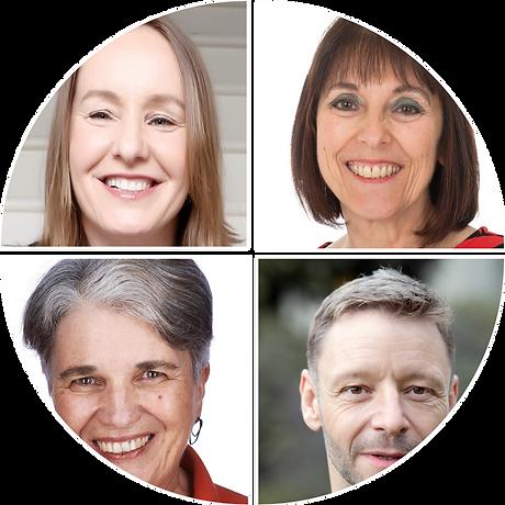 Alison Whybrow, Eve Turner, Josie McLean