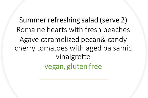 Summer refreshing salad
