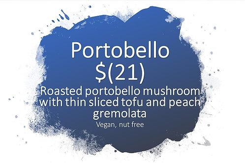 portobello and tofu