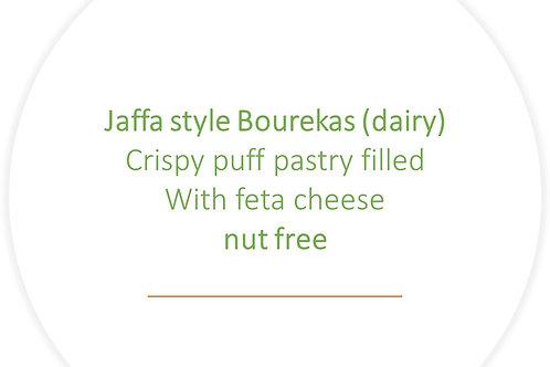 10 Crispy cheese Bourekas