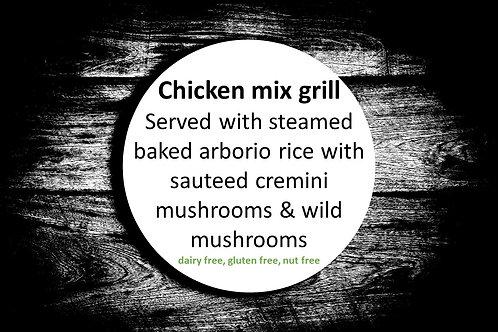 Chicken mix grill