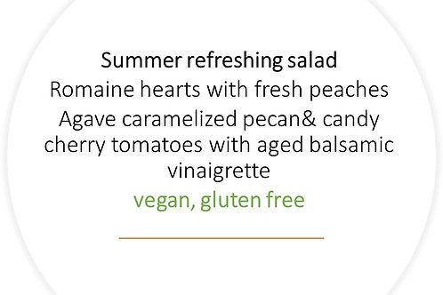 Summer refreshing salad