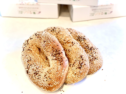 Everything Jerusalem bagels (bag of 3 bagels)