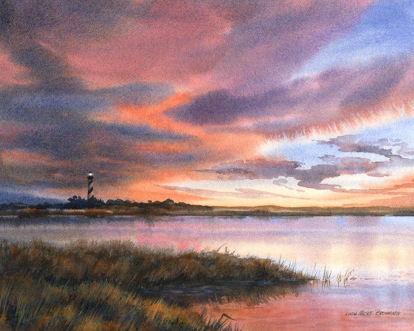 Hatteras Skylights by Linda Browning