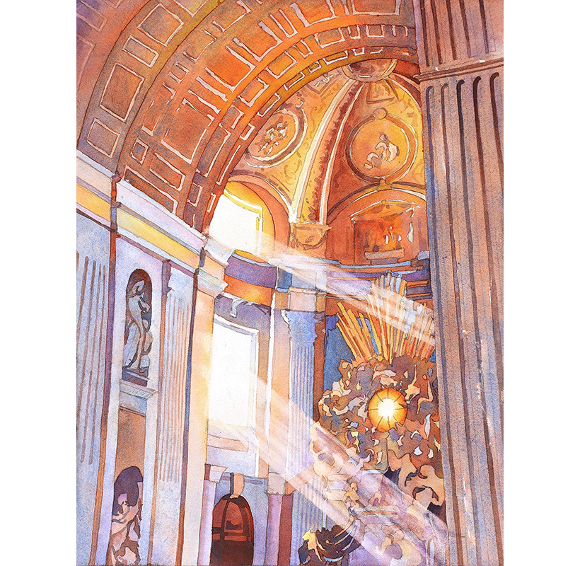 Vatican Light- Italy by Ryan Fox