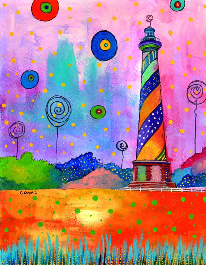 Lighthouse II by Carolina Coto