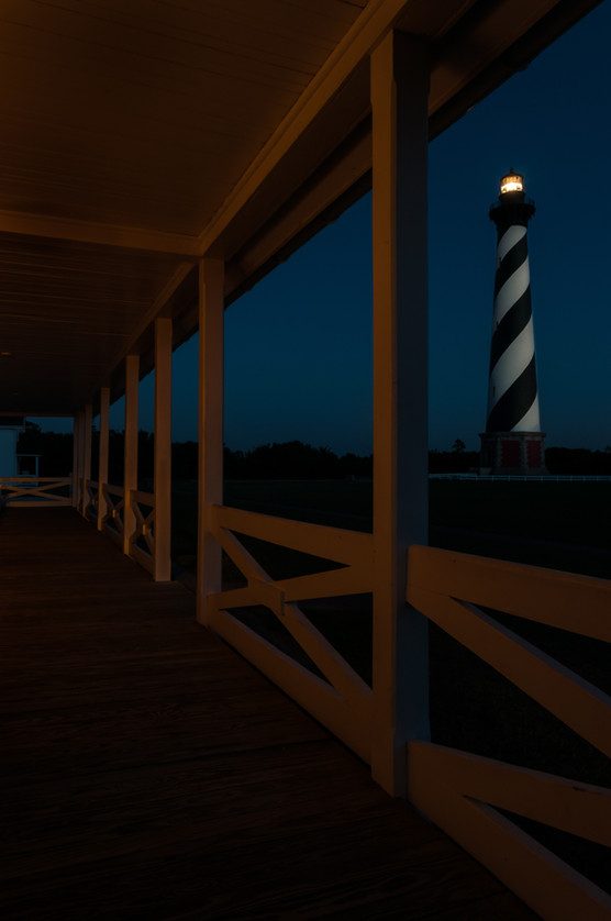 Hatteras Light by Dave Huff