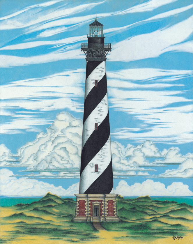 Cape Hatteras Lighthouse by Kim Mosher