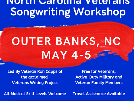 N.C. Songwriting Workshop for Veterans Scheduled in Outer Banks