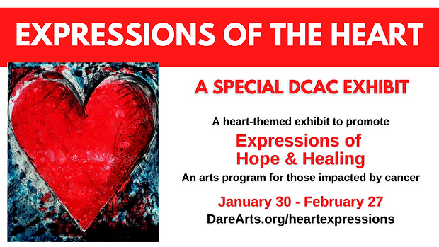 Expressions of the Heart FB Event No Cal