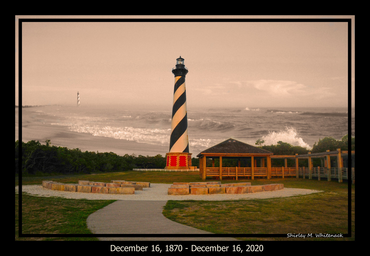 Cape Hatteras Lighthouse by Shirley Whitenack