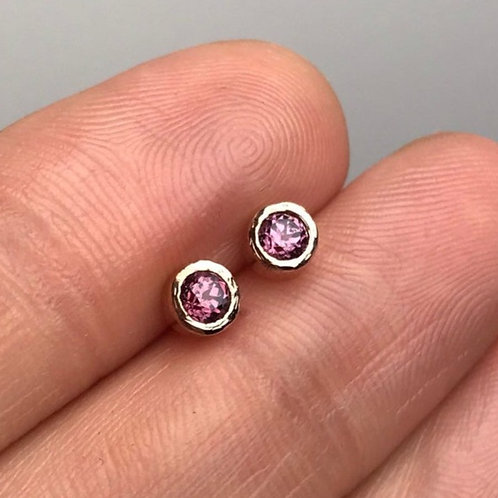 """Rhodolite Garnet Earrings"""