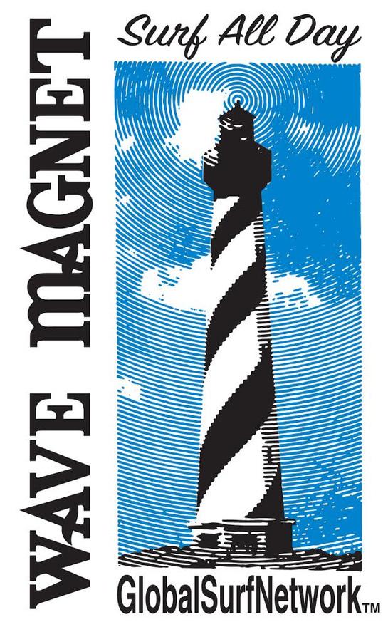 Wave Magnet designed by Bonnie Collins