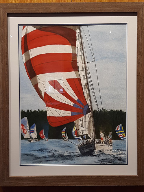 """Sailboat Regatta"""