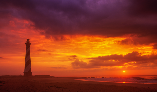 Sunrise at Cape Hatteras by Steve Alterman